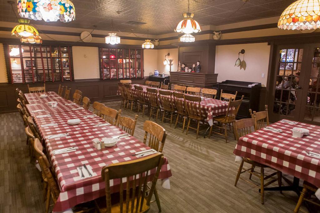 The Barrel Restaurant Banquet Room